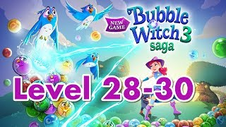 Bubble Witch 3 Saga Level 28 - 30 Family and Kids Games