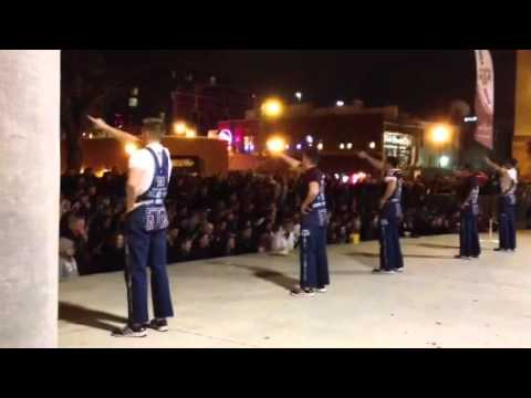Aggie Yell Practice
