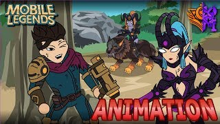 MOBILE LEGENDS ANIMATION #36 - THE WAR PART 2 OF 3