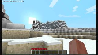Minecraft Amazing seed levels Beta 1.3