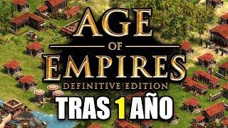 AGE of EMPIRES DE: ASÍ LUCE la REMASTERIZACIÓN TRAS 1 AÑO