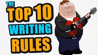 Top 10 Rules Of Songwriting (Songwriting Tips And Secrets)