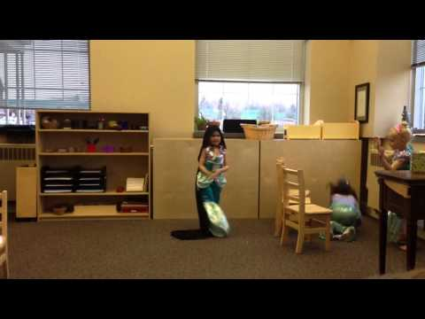 Kate play, North Shore Montessori, Part 2