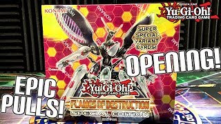 *EPIC!* Yu-Gi-Oh! Flames of Destruction Special Edition Unboxing