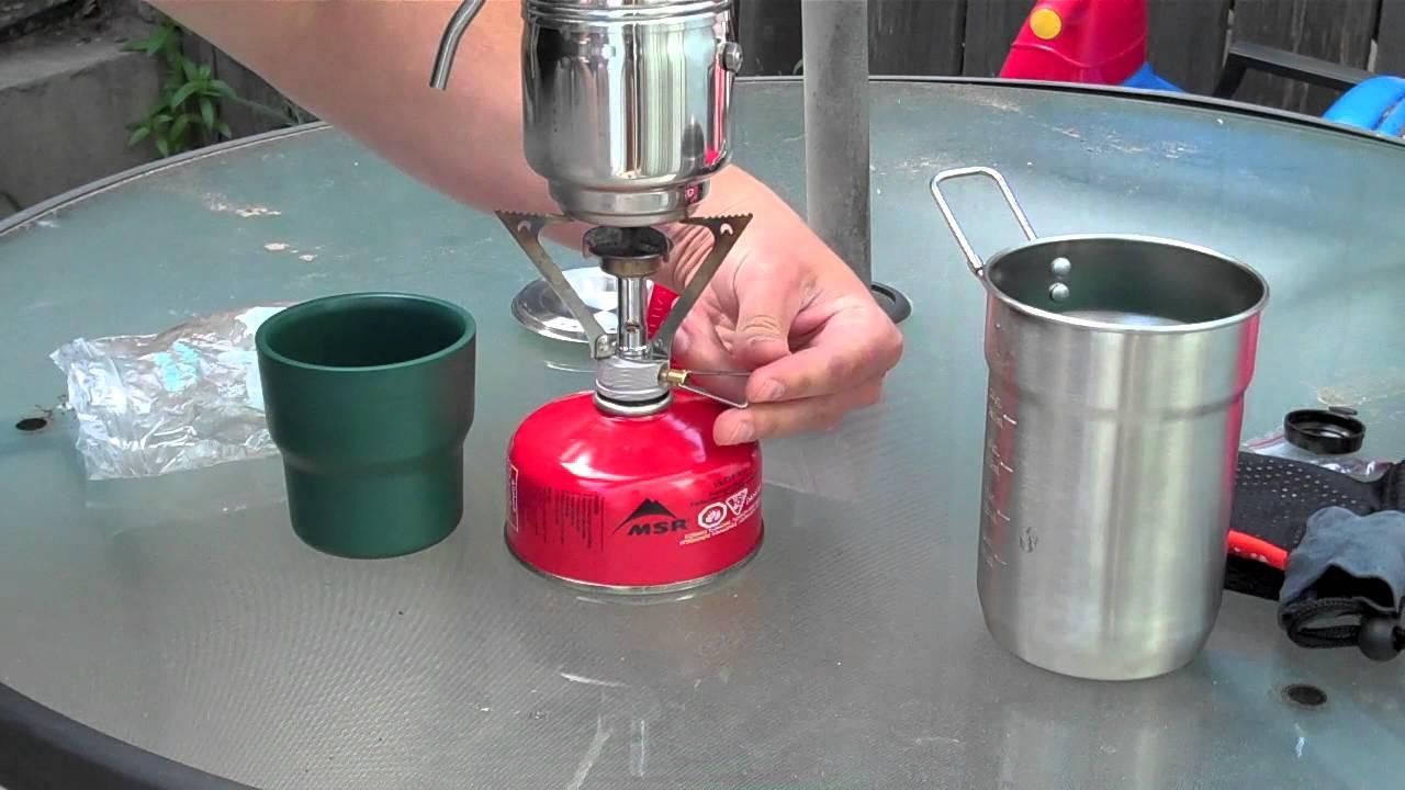Esbit Coffee Maker Reviews : ESBIT Coffee Maker - YouTube
