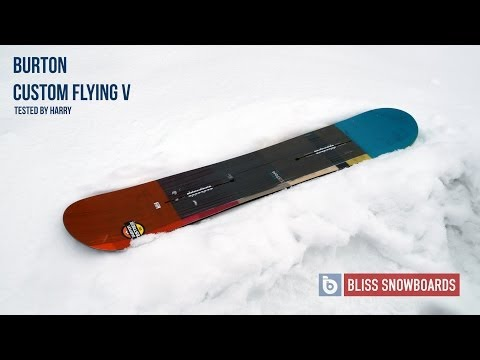 Burton Custom Flying V 2015 Snowboard Review By Harry At Bliss Snowboards