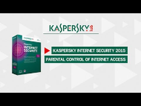 Parental controls: how to limit time spent online in Kaspersky Internet Security 2015