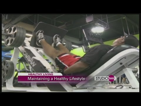 studio10: maintaining a healthy lifestyle, eastern shore weight loss, support from spouse