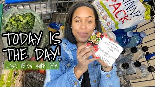 DETOX WEEK GROCERY HAUL! Lose Weight with Me | 21day SNATCHATIVITY CHALLENGE