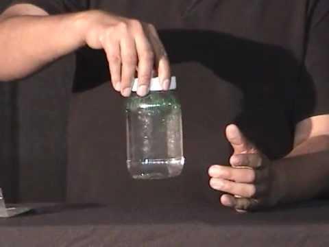 Experimento Tornados en la botella