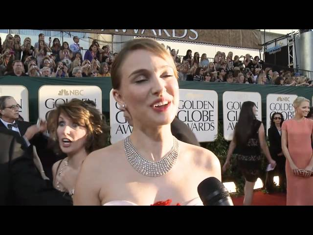 Golden Globes Red Carpet Interviews: Natalie Portman, Carrie Underwood