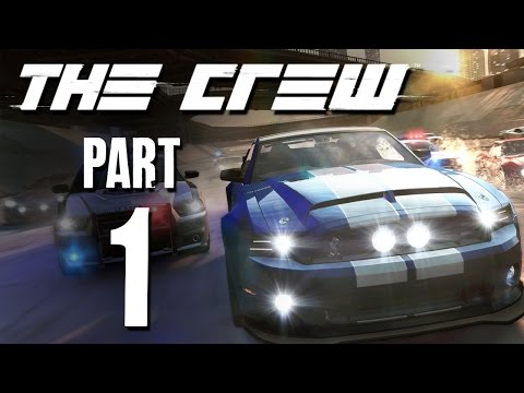 The Crew Gameplay Walkthrough - Part 1 RACING ACROSS AMERICA (closed beta pc)
