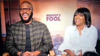 Tyler Perry/Tiffany Haddish Interview Goes Off The Rails
