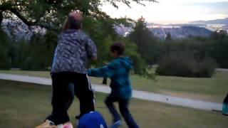 Funny family fight