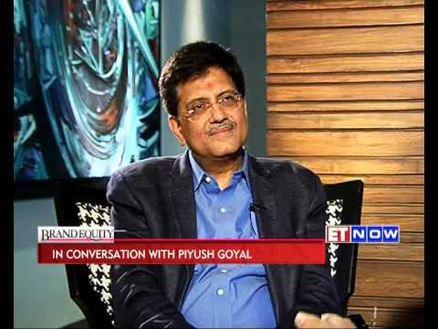 Brand Equity: In Conversation with Piyush Goyal, BJP Treasurer