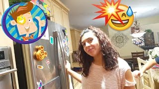 TRICK SHOTS: FUNnel Perfect! SAVAGE SHAWN RETURNS! MICROWAVING HALLOWEEN GHOSTS (FUNnel Vision Vlog)