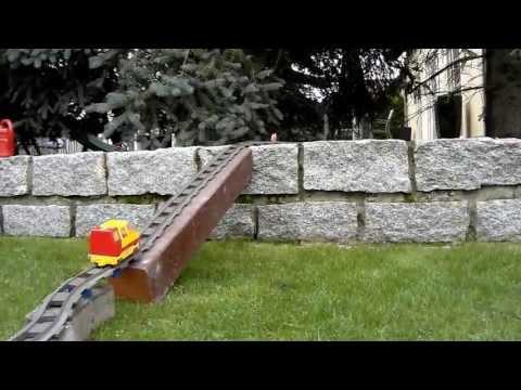 Lego Duplo Eisenbahn Streckenvorschlag 2 (für Den Garten)