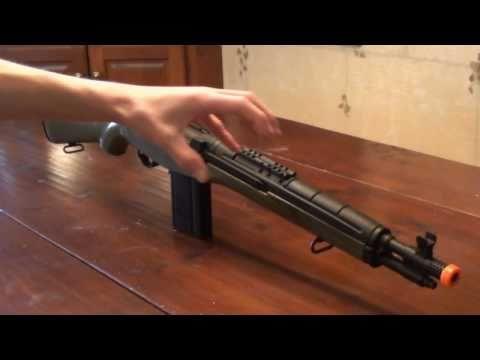 CYMA M14 SOCOM Airsoft Gun Review