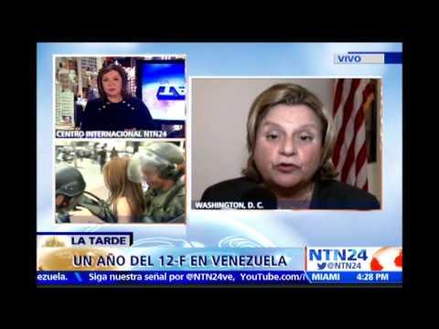 """Ileana Ros-Lehtinen insta a Obama a que """"despierte"""" a la realidad de Venezuela"""