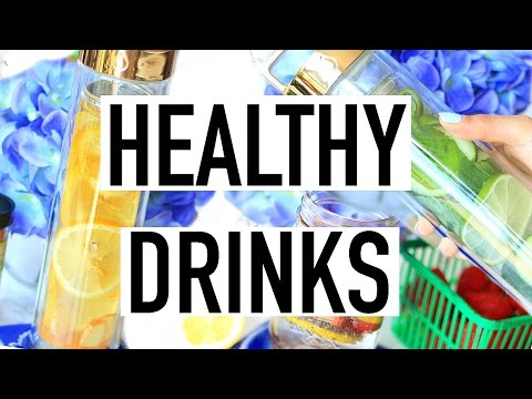 Healthy Summer Drinks! Infused Water Recipes!