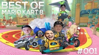 Best of Mario Kart 8 #001 ft. MontanaBlack, flyinguwe, ELoTRiX, Solution, PunktMomo & Hornisse86!😂