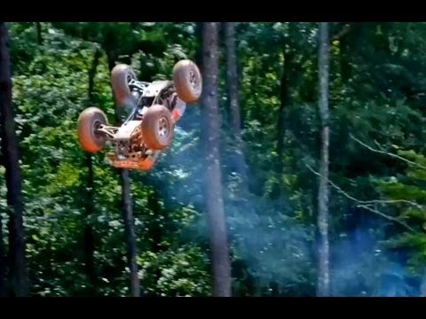 Hpi Savage-X 4.6 Backflips at BMX Track