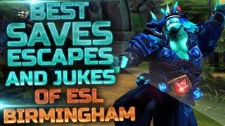 BEST Saves, Escapes & Jukes of ESL One Birmingham 2019 - Dota 2