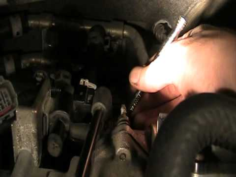 Cleaning your IAC to fix rough idle on 2000 or 2001 Mazda MPV