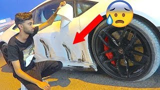He Crashed his Lamborghini AGAIN ... *NOT CLICKBAIT*
