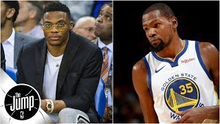 Tracy McGrady on Kevin Durant and Russell Westbrook: 'What is going on with these two?'   The Jump
