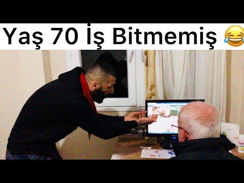 Yaş 70 İş Bitmemiş 😂😂