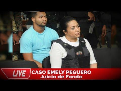 ¡EN VIVO! Continuación juicio de fondo caso Emely Peguero - 31/10/2018