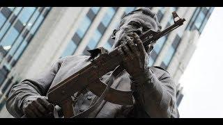 AK-47 Monument: Russia Unveils Statue Of Mikhail Kalashnikov In Moscow