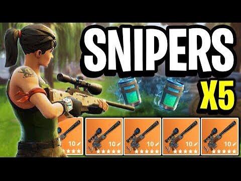 My best game on Sniper Shootout (Fortnite Battle Royal)