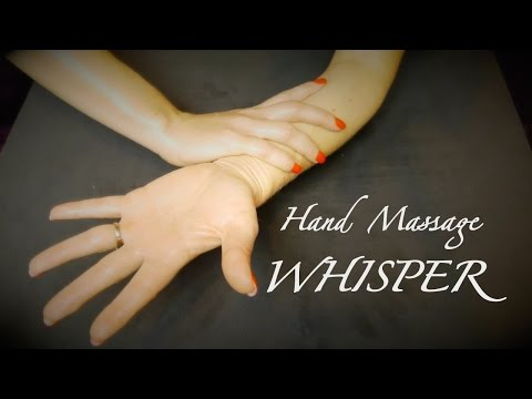 ❢ASMR Wonder Oil - A Hand Massage & Sleep Whisper Video❢ - Binaural