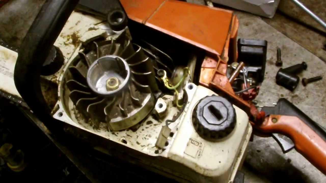 Stihl Chainsaw Repair Part 1