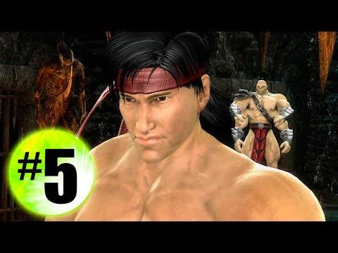 MK 9 #5 Горо & Лю Кенг встретятся в смертельной битве
