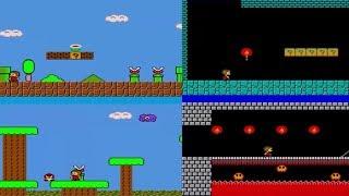 Alex Kidd In Mario Bros World Beta 2