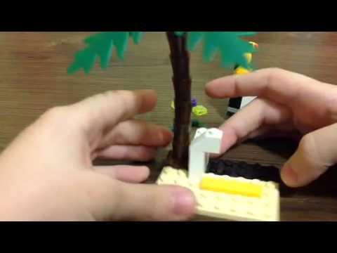 Как сделать из лего капкан