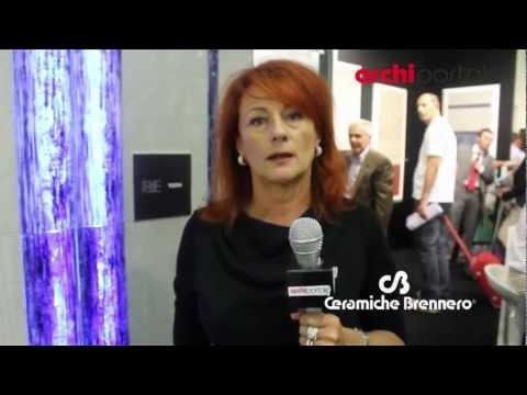 Ceramiche Brennero - Interviste Cersaie 2012 - Archiportale