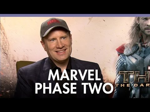 Kevin Feige lifts the lid on Marvel's Phase 2