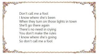 Watch Charlie Robison Dont Call Me A Fool video