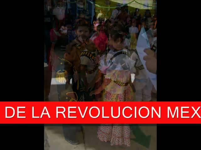 CANTOS PREESCOLARES PARA LA REVOLUCION MEXICANA