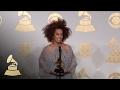 Solange Holding Grammy | Backstage | 59th GRAMMYs