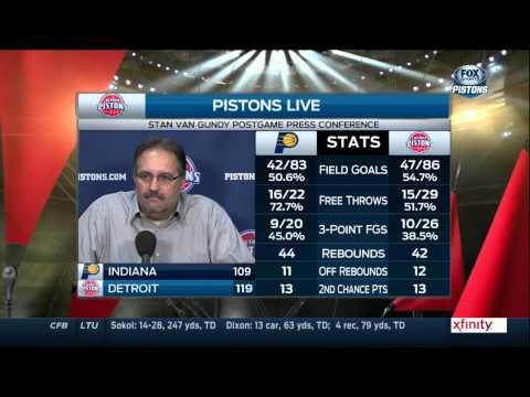 Stan Van Gundy Pistons Stan Van Gundy Speaks After