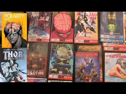 Podcast Ep3: Comics: Iron Man, Polarity, Superior Spider-Man, Uncanny X-Men, X-Force,