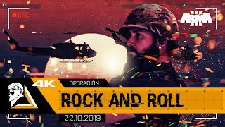 OPERACIÓN ROCK AND ROLL - ARMA3 4K 7th CAVALRY US ARMY - SQUAD ALPHA - DIABLO HELMETCAM