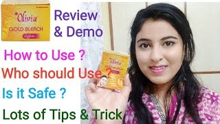 Olivia Gold Bleach Review | Uses_ Tips & Tricks for Beginners (in Hindi)_ ब्लीच  करने का सही तरीका