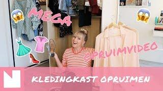 Malu's mega kledingkast opruimvideo!