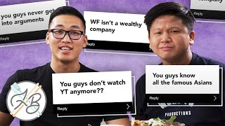 Reading Your Assumptions About Wong Fu - Lunch Break!